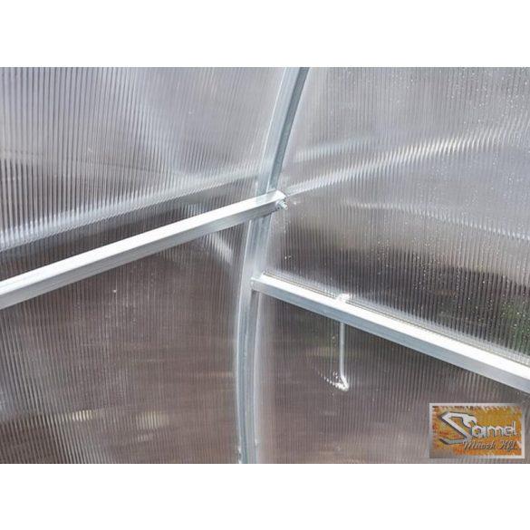 3x6 méteres szimpla profi üvegház kiegészítőkkel