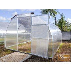 3x10 méteres szimpla profi üvegház kiegészítőkkel