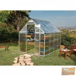 Optimum polikarbonát üvegház 4,63 m2