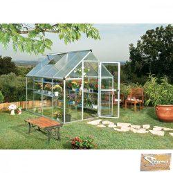 Optimum hybrid polikarbonát üvegház 4,63 m2