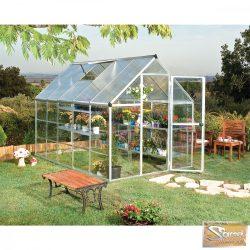 Optimum hybrid polikarbonát üvegház 5,74 m2