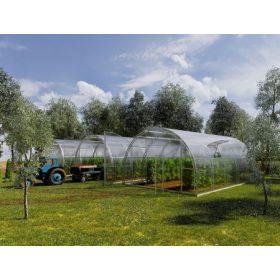 Farmer üvegházak 6 méter szélességgel, választható polikarbonát vastagsággal