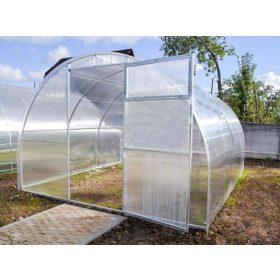 Szimpla üvegházak 4, vagy 6 mm-es polykarbonáttal