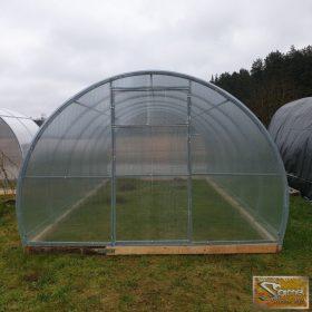 Comfort üvegházak 4m szélességgel