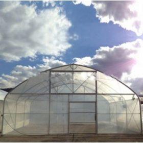 Prémium függőleges oldalfalú fóliasátrak 10 méter szélességgel 300-1000 m2 között