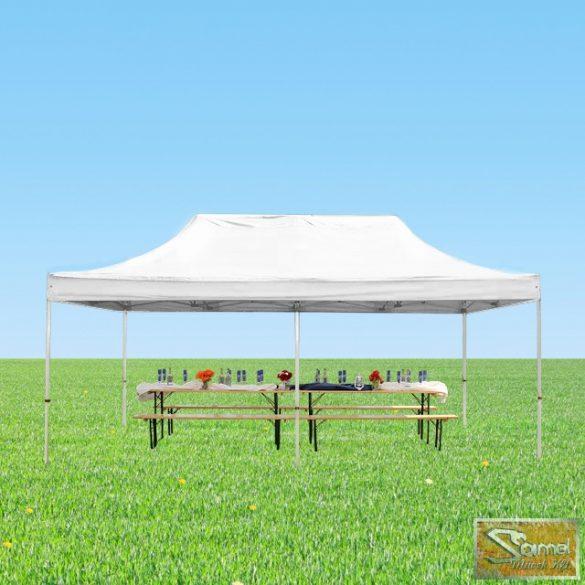 Profi professzionális aluline pavilon 3x6 m, több színben oldalfal nélkül
