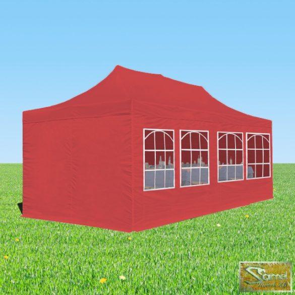 Profi prémium logilne pavilon 3x4,5 m, oldalfallal több színben