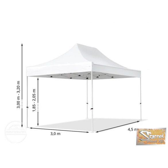 Profi economy logiline pavilon 3x4,5 m 4 oldalfallal több színben