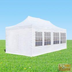 Profi professzionális aluline pavilon 3x6 m, több színben oldalfallal