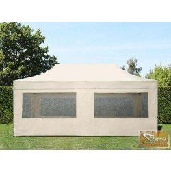 Profi prémium aluline pavilon 3x4,5 m, panoráma ablakkal több színben