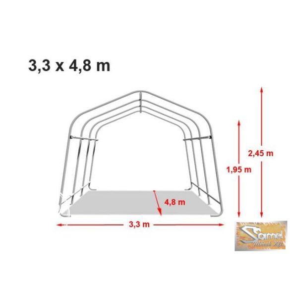 Profi economy sátorgarázs 3,3x4,8m zöld