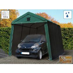 Profi prémium sátorgarázs 2,4x3,6 m zöld