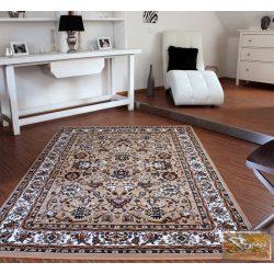 Klasszikus keleti mintájú szőnyeg, bézs-krém