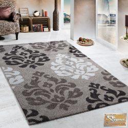 Barokk mintás szőnyeg, barna-bézs