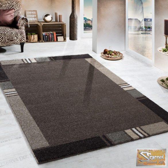 Terracotta szőnyeg, keretmintás, szürke-bézs
