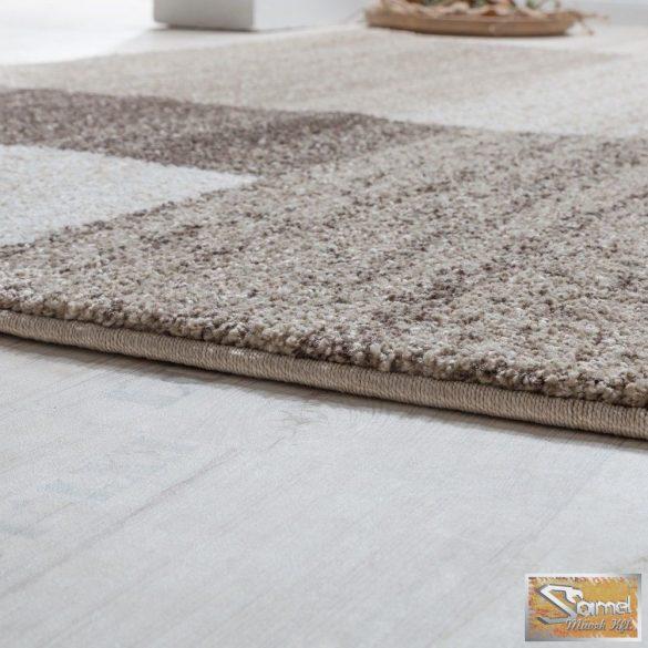 Szőtt szőnyeg, barna-bézs-krém