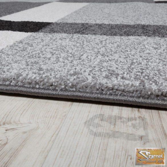 Szőtt szőnyeg, fekete-szürke