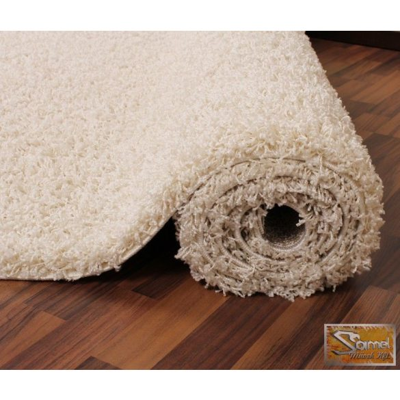 Shaggy szőnyeg hosszú bolyhos, krém 30 mm
