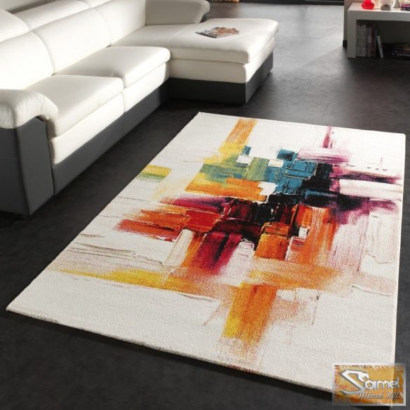Designer szőnyeg, tarka mintával