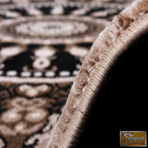 Szőnyeg klasszikus, kör mintával barna-bézs