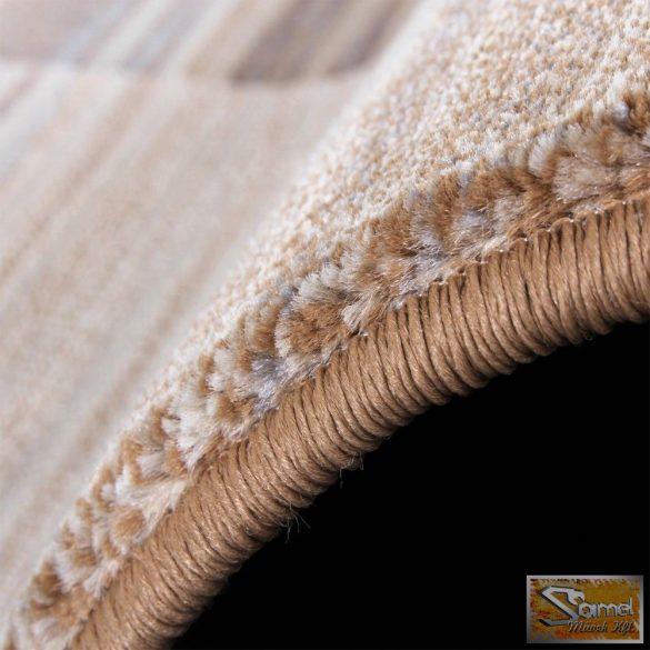 Szőnyeg barna-bézs fekete tónusokkal