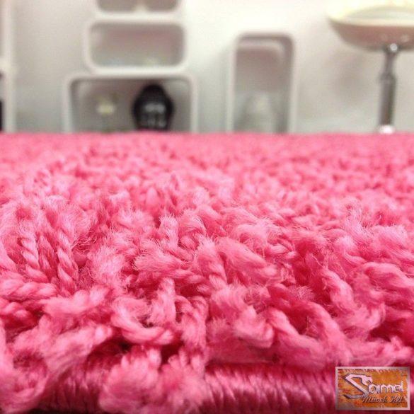 Shaggy hosszú bolyhos, pink 30 mm