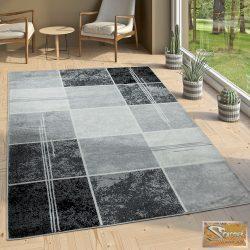Designer szőnyeg, márvány, szürke-fekete-fehér