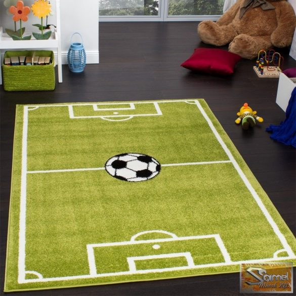 Gyerekszőnyeg focipálya
