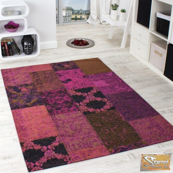 Szőnyeg patchwork vintage, lila
