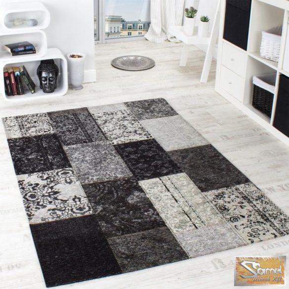 Designer szőnyeg patchwork, szürke