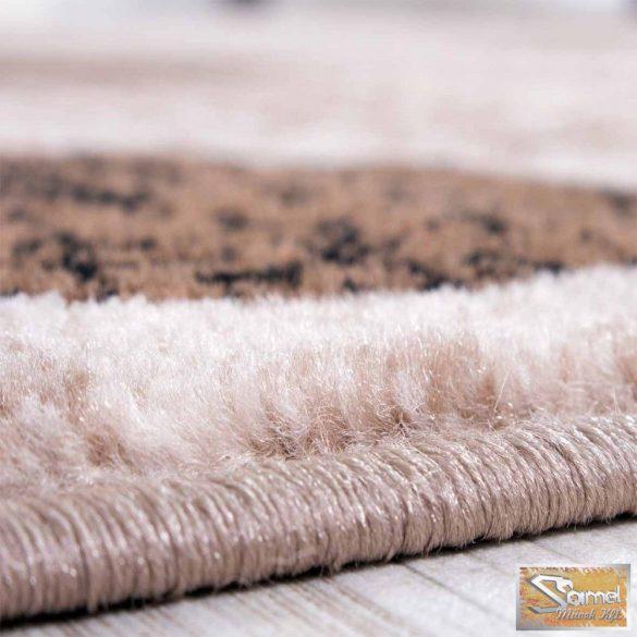 Retro mintás szőnyeg, barna-bézs