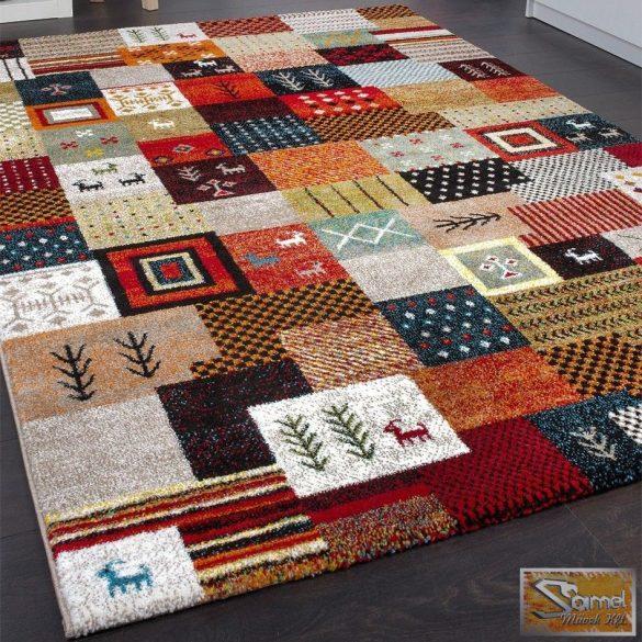 Designer szőnyeg nomád mintás, multicolor