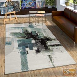 Színfoltos szőnyeg, türkiz-krém