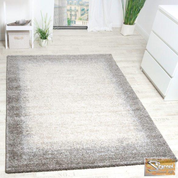 Keretmintás szőnyeg, bézs-krém-szürke