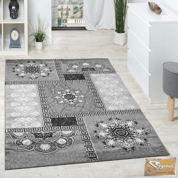 Klasszikus keleti mintájú szőnyeg, szürke-antracit