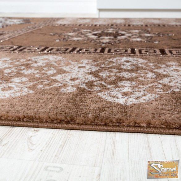 Klasszikus keleti mintájú szőnyeg, bézs-barna