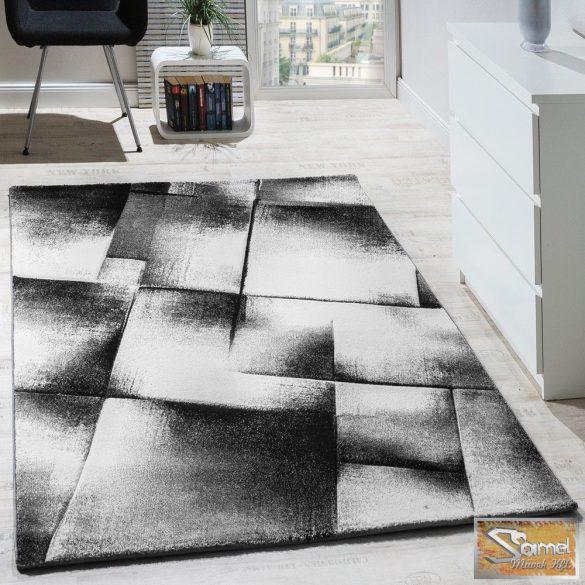 Designer szőnyeg szürke-krém-fekete