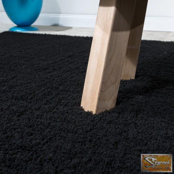 Shaggy szőnyeg, hosszú bolyhos, fekete 40 mm