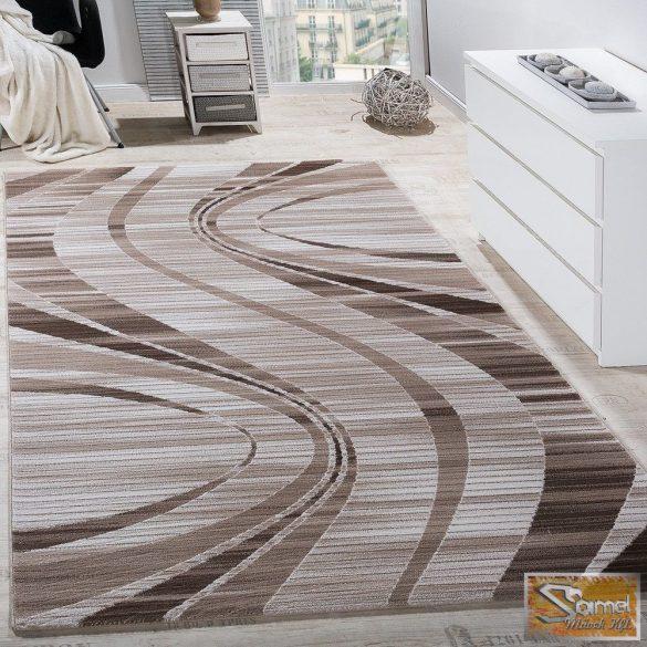 Hullámmintás szőnyeg, bézs-krém
