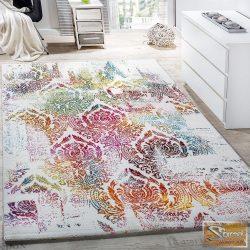 Designer szőnyeg díszes mintával, színes-kém