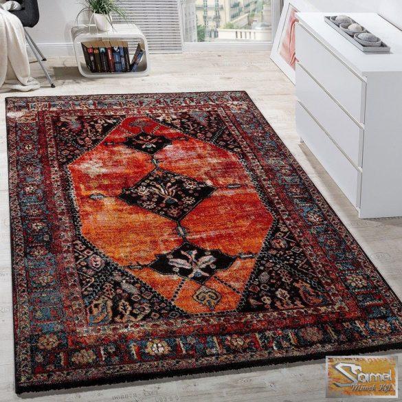 Keleti mintás szőnyeg, piros-barna