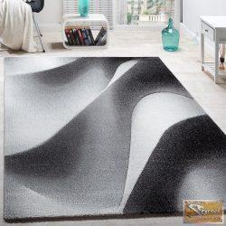 Hullámos szőnyeg, szürke-krém