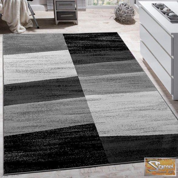 Designer szőnyeg, szürke mintával