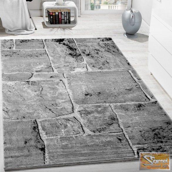 Designer szőnyeg, fal mintájú, szürke