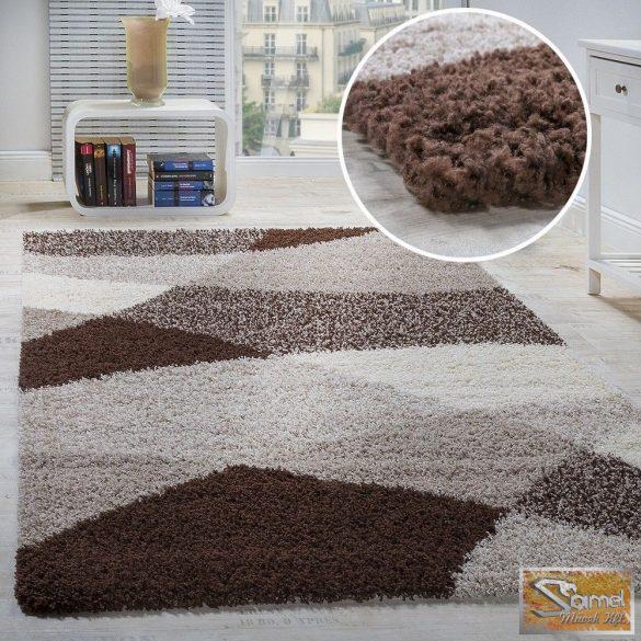 Shaggy szőnyeg geometriai mintás több méretben és színben