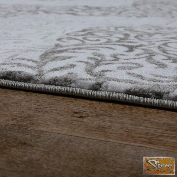 Szőnyeg hullámokkal, szürke-krém
