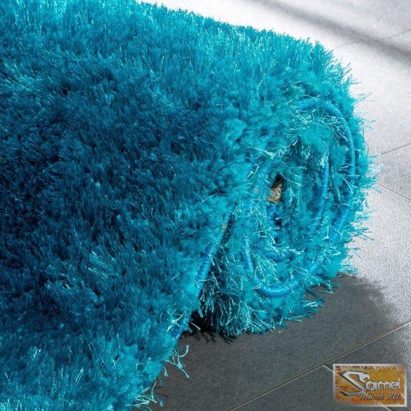 Shaggy szőnyeg hossz bolyhos türkiz