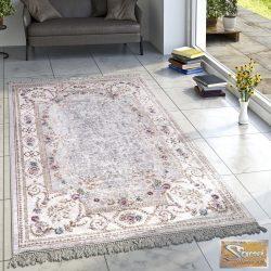 Klasszikus keleti mintájú szőnyeg, krém