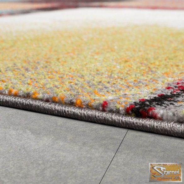 """Designer szőnyeg """"olajfestmény"""", fekete-sárga"""
