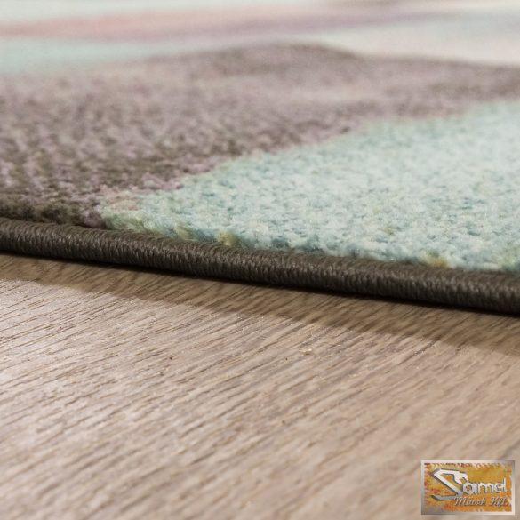 Desinger szőnyeg modern, tarka, zöld-sárga